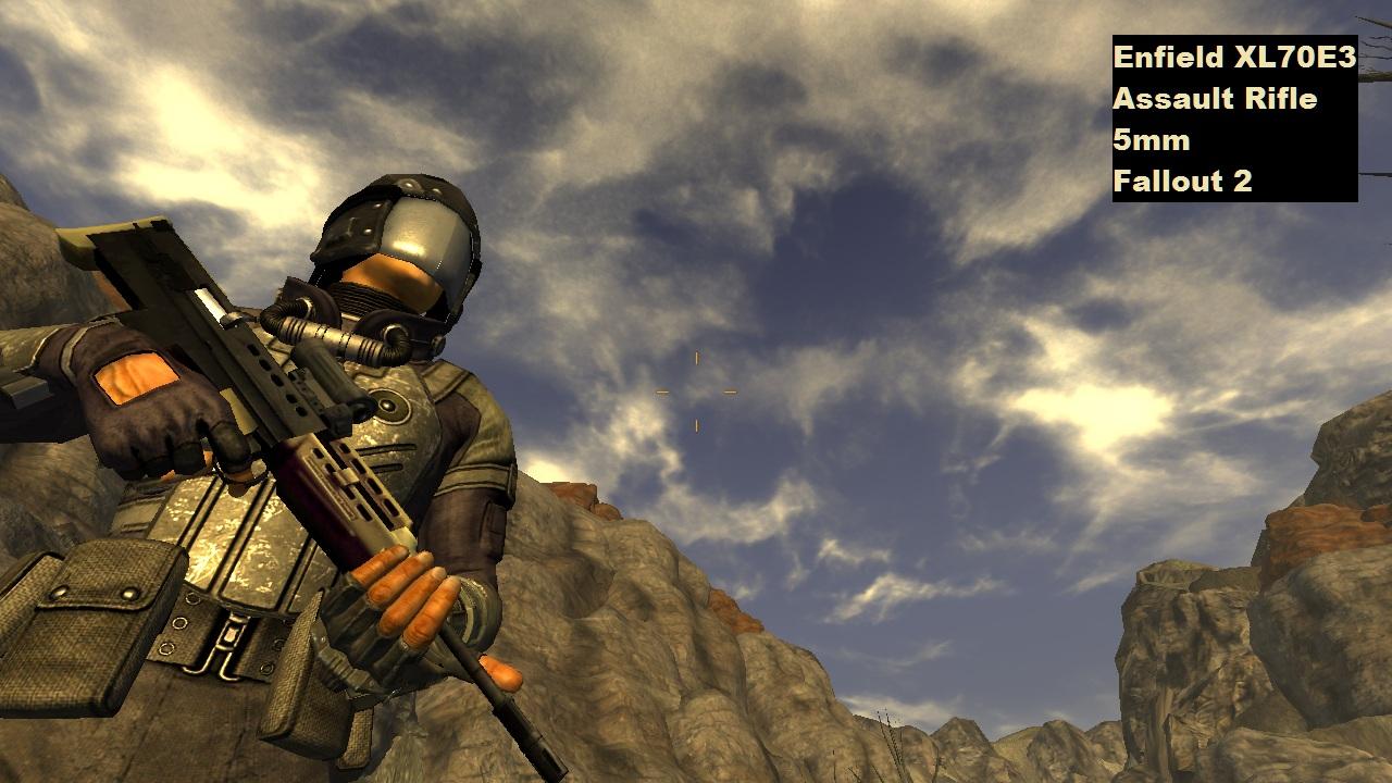 Классическое оружие Fallout / Classic Fallout Weapons