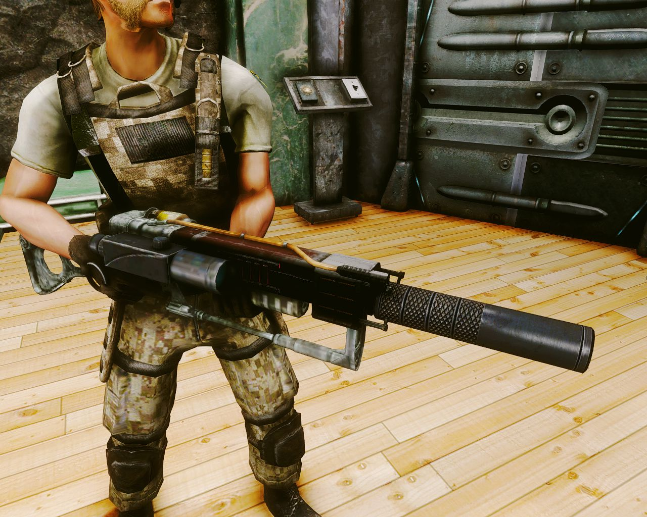 Лазерная винтовка Анклава Айрон-Сэнд