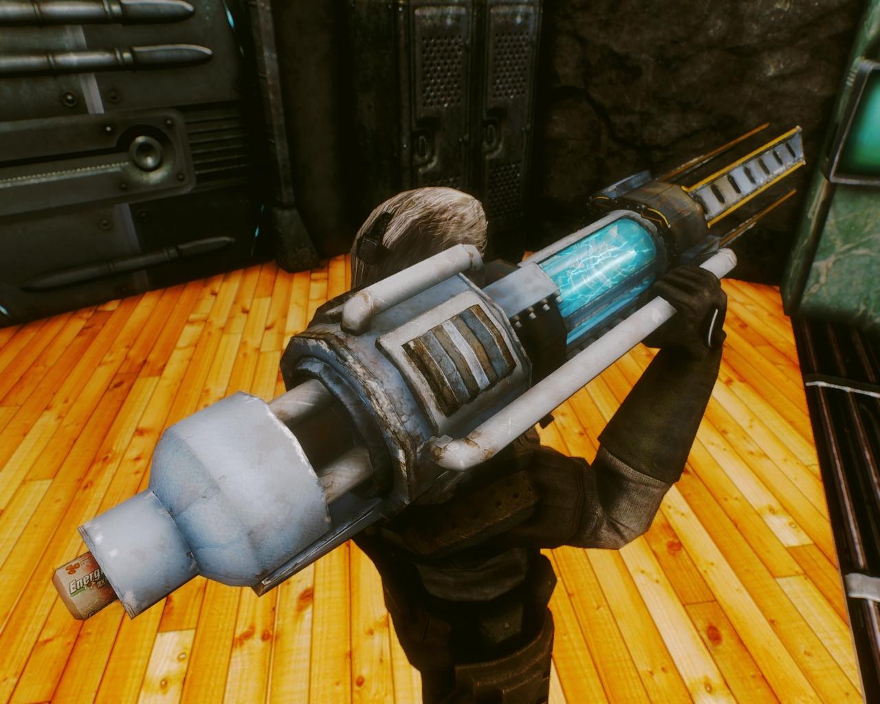Оружие Fallout SFW RA - Энергетическое