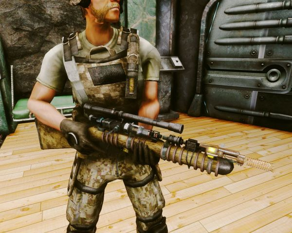 Самодельная лазерная винтовка