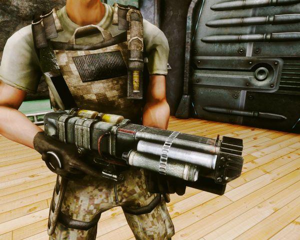 Лазерная винтовка трёхлучевая AER12, в.2