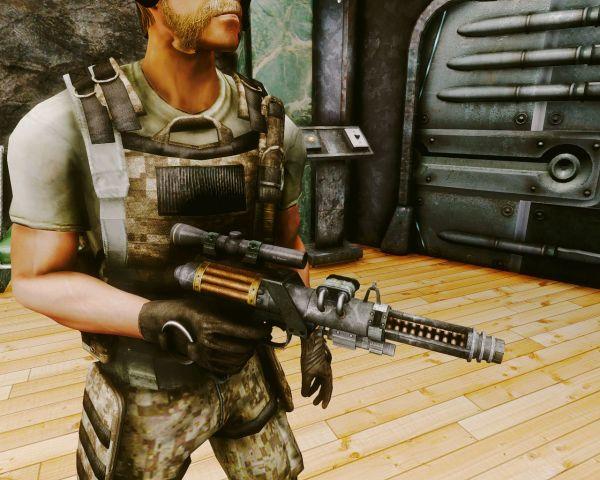 Подавляющий пистолет Гаусса