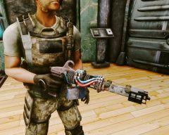 Самодельный лазерный пистолет