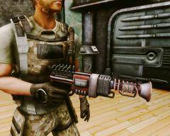 Пистолет с подзарядкой