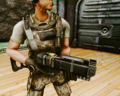 Лазерная винтовка трёхлучевая AER12, в.1