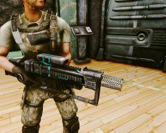 Тактическая лазерная винтовка