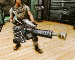 Гаусс-пушка Анклава Айрон-Сэнд