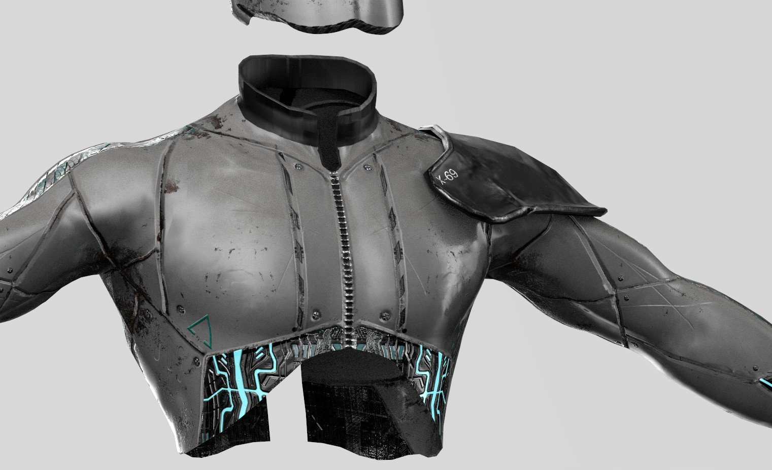 A.D.A.M.-X-69 - APOLLO Androids Combat Armor WIP