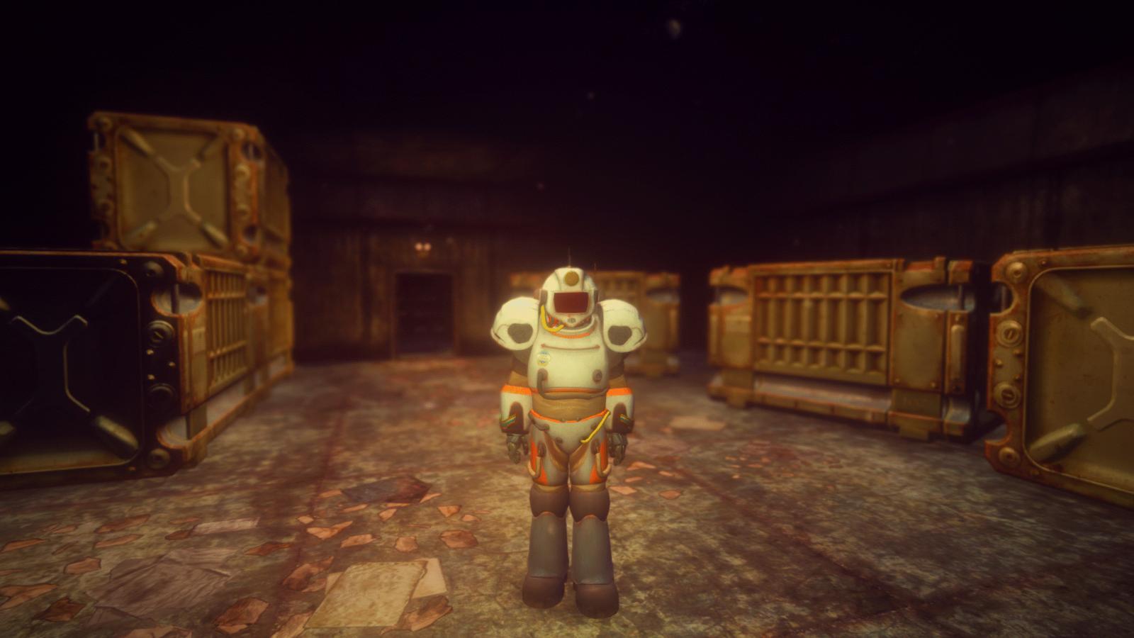 Силовой костюм астронавта М-11